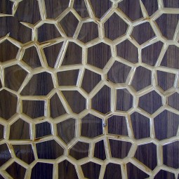 MosaiK Veneered Carved Wall Art