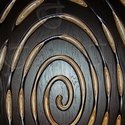 Orbit MoKKa Carved Wall Art