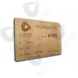 Carved Wall Art Gift Voucher