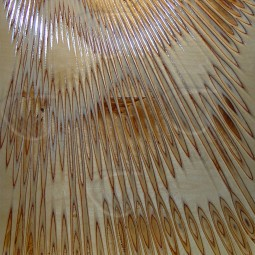 Sunburst V1 Carved Wall Art