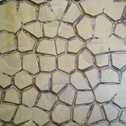 MosaiK Carved Wall Art