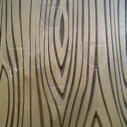 Woodgrain Carved Wall Art